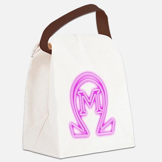 OMEGA MU GLOW Canvas Lunch Bag