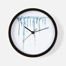 Cold and Hard Rev Wall Clock