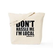hassle_blk Tote Bag