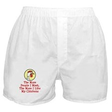 More I Like My Chickens Boxer Shorts