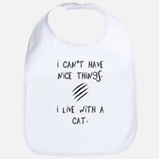 Funny Cat Quote Bib
