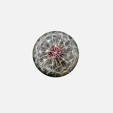 Dandelion Seed Head Mini Button