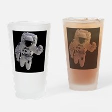 Astronaut Drinking Glass