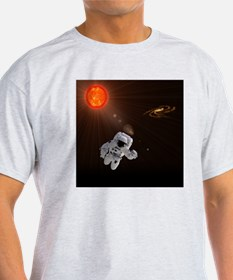 Astronaut And Sun T-Shirt