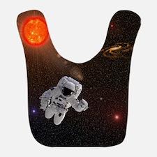 Astronaut And Sun With Stars Bib