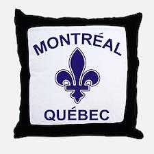 Montreal Quebec Throw Pillow