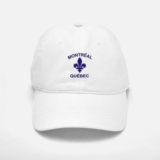Montreal Quebec Baseball Baseball Cap