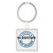 TuttlePD911 Square Keychain