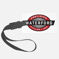 WaterfordLogoRed-Black-WhiteVect Luggage Tag
