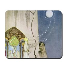 Out Popped the Moon Mousepad
