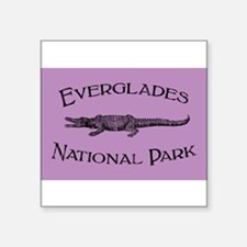 Everglades National Park (Crocodile) Sticker