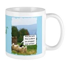 Drop Stitch Sheep Mugs