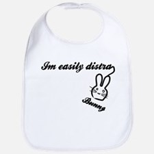 I'm Easily Distra...Bunny! Bib