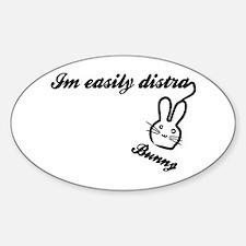 I'm Easily Distra...Bunny! Decal