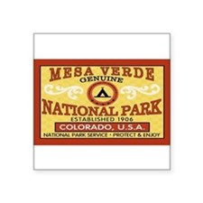 Mesa Verde National Park Rectangle Sticker