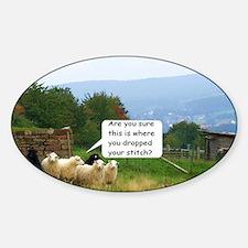 Drop Stitch Sheep Decal