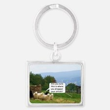 Drop Stitch Sheep Keychains