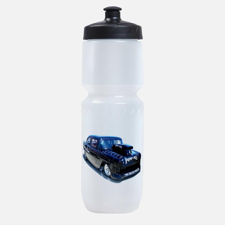 Black POW Classic Car Sports Bottle