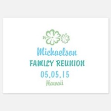Your own name Family Reunion Hawaii Invitations