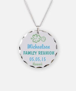 Your own name Family Reunion Hawaii Necklace