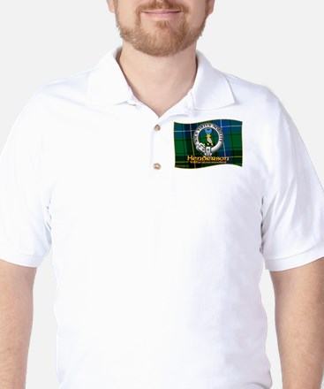 Henderson Clan Golf Shirt