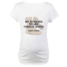 Navy Wife wears DCB Shirt