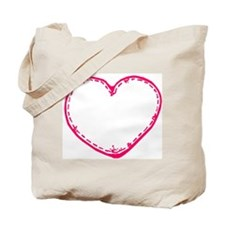 Patchwork Hearts Tote Bag