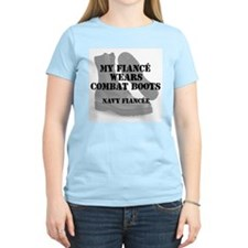 Navy Fiancee wears CB T-Shirt