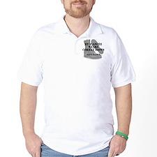 Navy Fiance wears CB T-Shirt