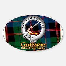 Guthrie Clan Decal