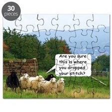 Drop Stitch Sheep Puzzle