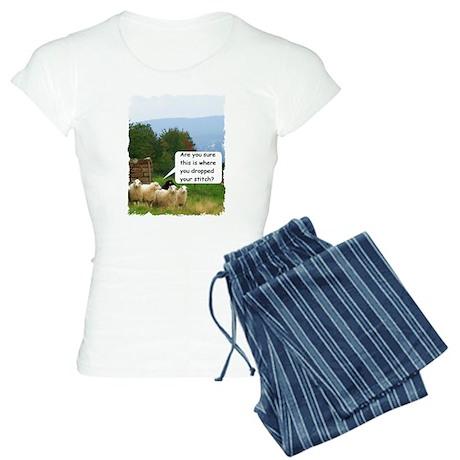 Drop Stitch Sheep Pajamas