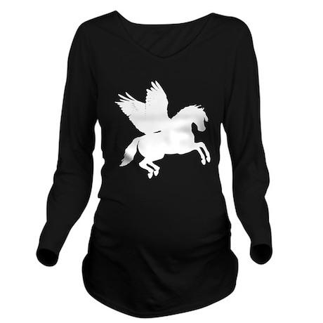 Pegasus Long Sleeve Maternity T-Shirt