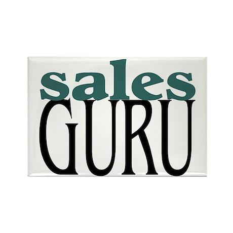 Sales Guru Rectangle Magnet (10 pack)