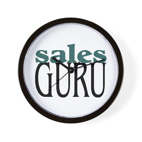 Sales Guru Wall Clock