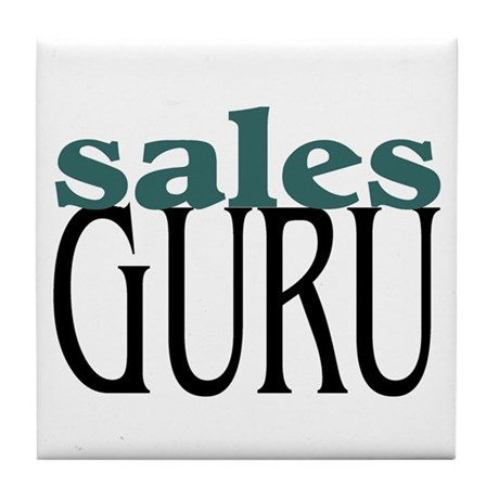 Sales Guru Tile Coaster