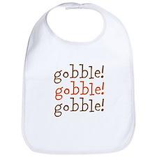 gobble! gobble! gobble! Bib