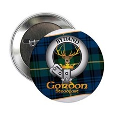 "Gordon Clan 2.25"" Button"