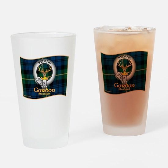 Gordon Clan Drinking Glass