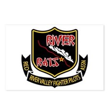 River Rats Postcards (Package Of 8)