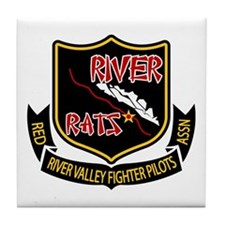 River Rats Tile Coaster