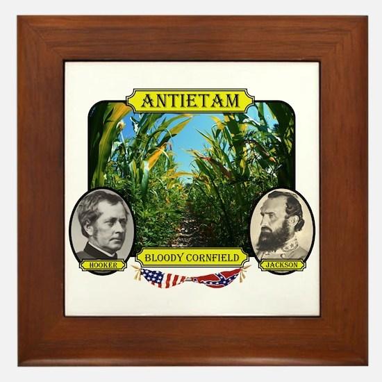 Antietam-Bloody Cornfield Framed Tile