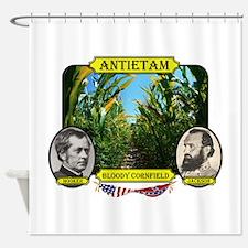 Antietam-Bloody Cornfield Shower Curtain