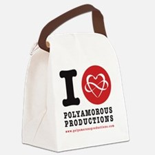 I HEART POLYAMOROUSART Canvas Lunch Bag