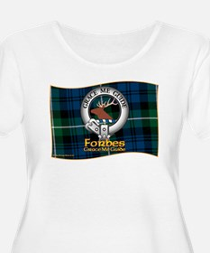 Forbes Clan Plus Size T-Shirt
