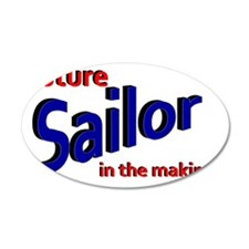 Future Sailor in the making Wall Decal