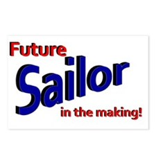 Future Sailor in the maki Postcards (Package of 8)