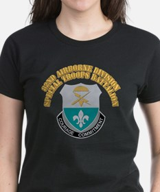 DUI - 82nd Airborne Division - STB With Text Women