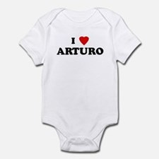 I Love ARTURO Infant Bodysuit