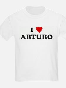 I Love ARTURO Kids T-Shirt